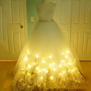 Image 5 - 5M 50LED Kupfer Draht Licht String Batterie Power Mit Fernbedienung Fee Lichter String Hochzeit Christma Urlaub Dekor Beleuchtung
