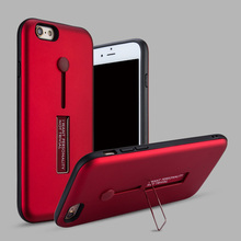 Фотография Kickstand Case For iPhone 7 7 Plus Magnetic Holder Phone Cases PC+TPU Stand Cover For iPhone 6 6s Plus