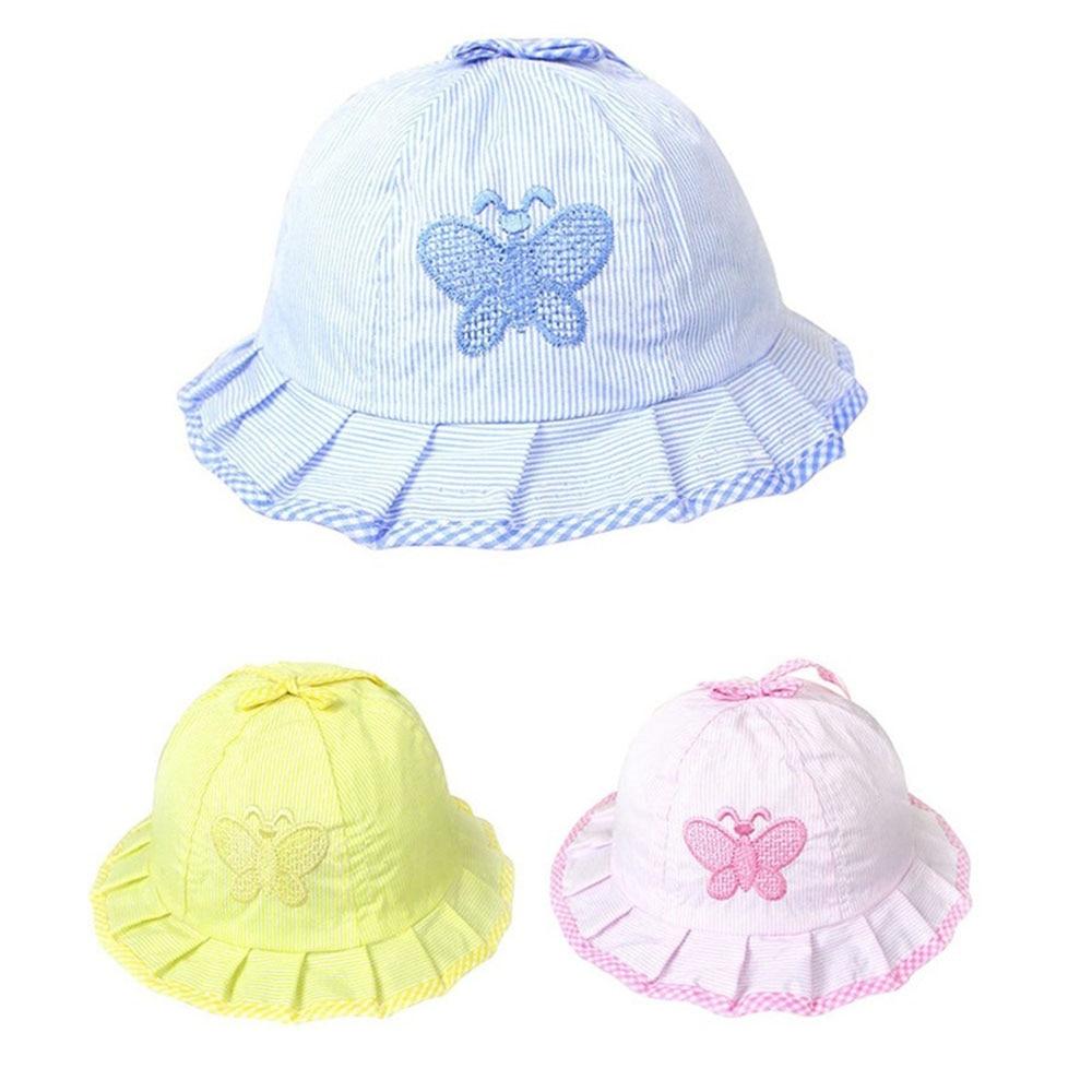 1 шт., Детская летняя шляпа с бантом, на возраст от 3 до 12 месяцев