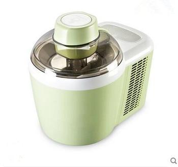 Ice cream machine, refrigeration household automatic with fruit ice cream