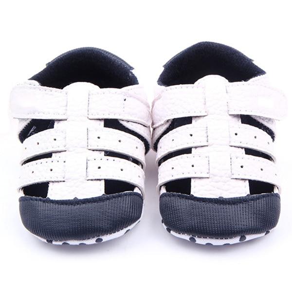 Summer Baby Boy Girl Sneaker Faux Leather Non-Slip Walking Shoes