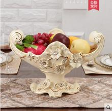 European luxury fruit bowl ceramic large-capacity