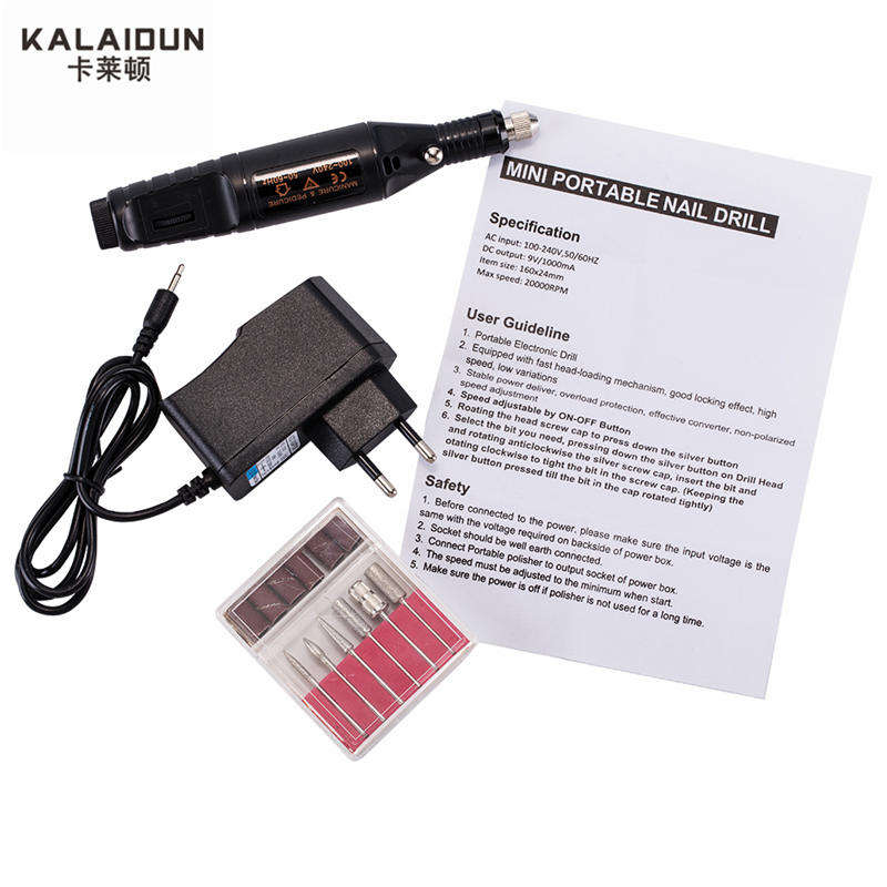 KALAIDUN Professional Hand Drill Mini Drill Electric Drill Carving Polishing Grinding Drilling  Tool  Power Tools Variable Speed high quality mini drill variable speed hand drill electric grinding polishing grinder drillingtools professional power tools kit