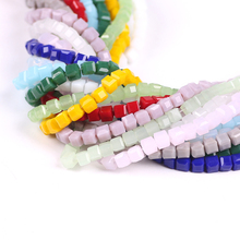 Faceted 3mm 100pcs/lot Cuts Crystal Glass Beads Diy Jewelry Spacer Czech Loose U-pick Colors Color