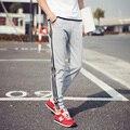 Diseño fresco Moletom Hombres Pantalones Casuales de Bolsillo Grande Superior Aquí Marca Ejército ropa Pantalones Hip Hop Harem Pantalones Para Hombre Joggers 6 Colores