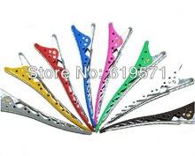 8pcs/pack professional salon hair clips full Aluminum hair clips  ys park