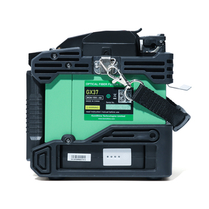 Image 5 - Komshine newest GX37 optic fiber fusion splicer  with one pair electrodes and KF 52 high precision optic fiber cleaver