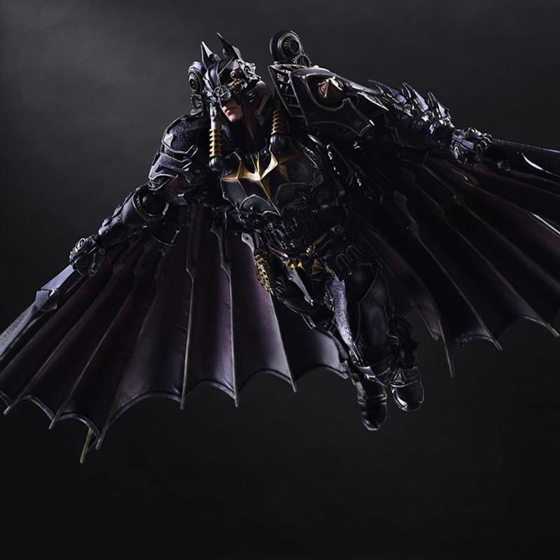 Batman Steampunk VARIANT Ver Action Figure Play Arts PA Kai Bruce Wayne 27cm High No Box (Chinese Ver)