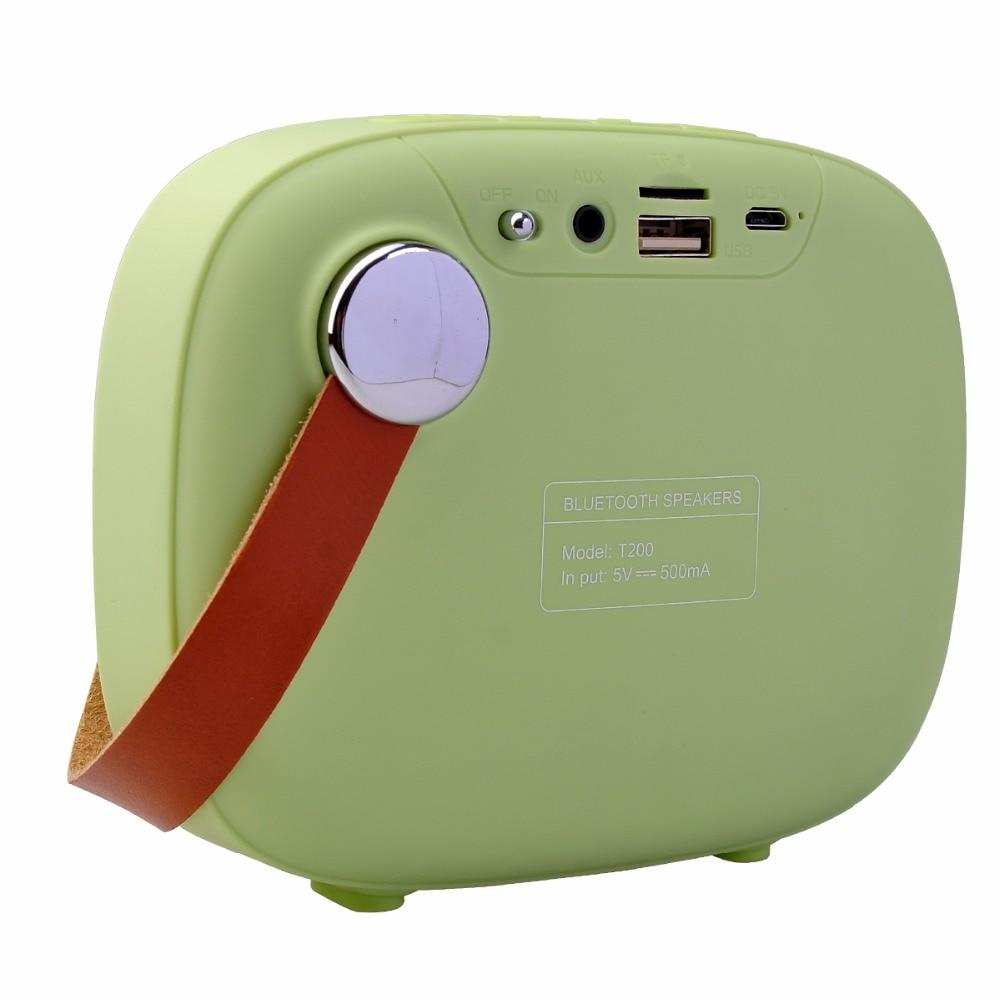 Noyazu T200 Tela de mano Arte Bluetooth Blet Altavoz Diafragma - Audio y video portátil - foto 4