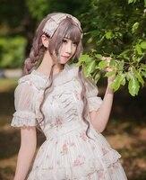 Women Princess Floral JSK Suspender Lolita Dress