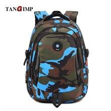 TANGIMP 3 Size Camouflage Kind Kühlen Rucksack Schultaschen Unisex Travel Mochila escolar Rucksäcke Taschen für Jungen Mädchen Teenager