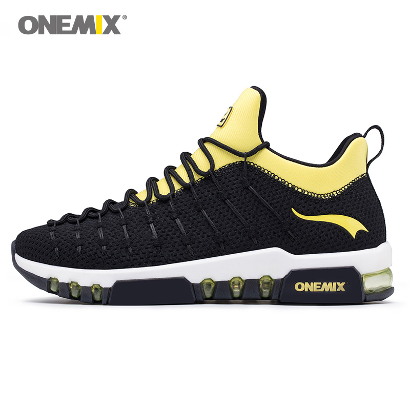 ONEMIX 2019 Max Man Running Shoes Men Trail Trends Athletic Trainers Black Sports Boots Cushion Outdoor