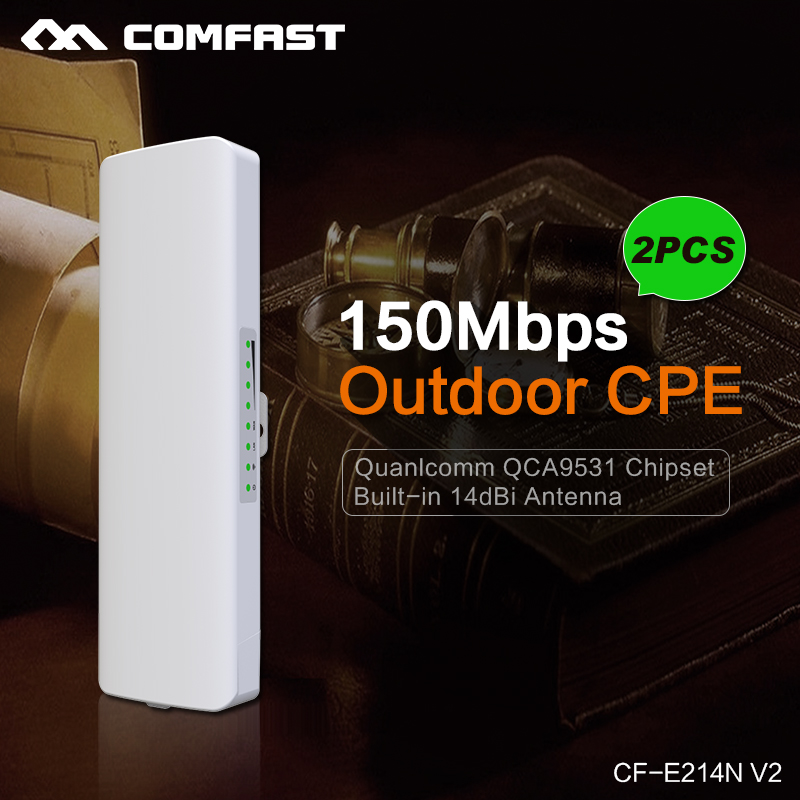 wireless-n outdoor Wifi Repeater 150Mbps Access Point Repeater Wi-fi Antenna 2.4G Signal Booster Amplifier Wi fi Router CF-E214