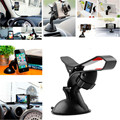 2016 New Arrival Universal Car Windshield Mount Holder Car Phone Stand Holder For iPhone6 6s Plus 5S 5G 4S iPod GPS