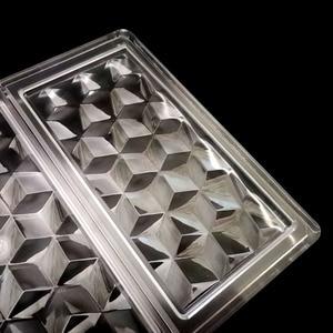 Image 3 - Molde 3D de policarbonato para barras de Chocolate, molde para dulces de grado alimenticio, herramienta de repostería