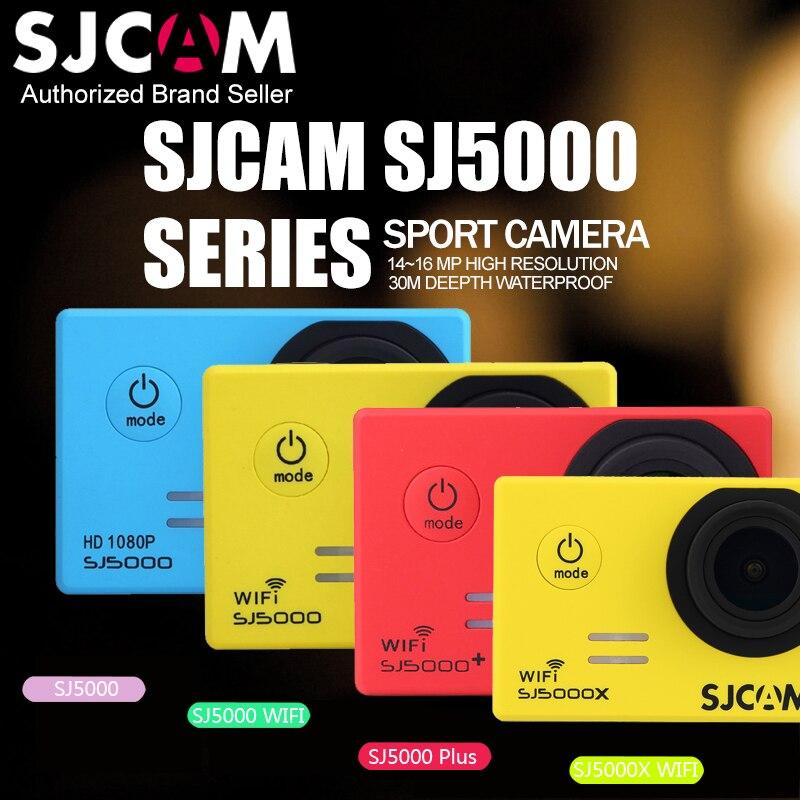 SJCAM SJ5000 Series WiFi Sports Action Camera SJ5000 / SJ5000 WIFI / SJ5000 Plus / SJ5000X 1080P Waterproof Mini Camera Car DVR