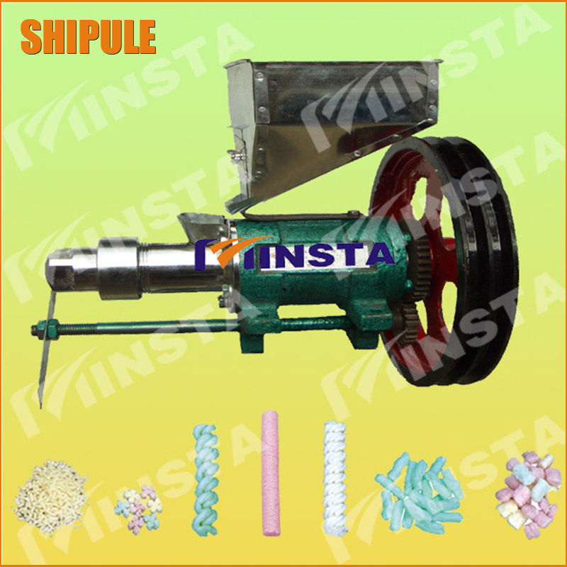 SHIPULE corn and rice Food Extruder Machine with 7 mould free shipping by express large production of snack foods puffing machine grain extruder single screw food extruder