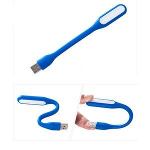 Image 4 - FFFAS مرنة USB منضدة إضاءة ليد القراءة مصباح USB الأدوات ليلة ضوء ل شاومي قوة البنك المحمول Powerbank دفتر الكمبيوتر