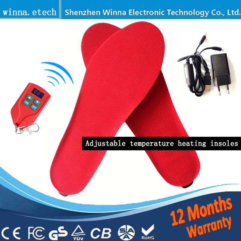 261727f93370 웃 유Новый USB Электронная нагрева Стельки для мужской обуви женские ...