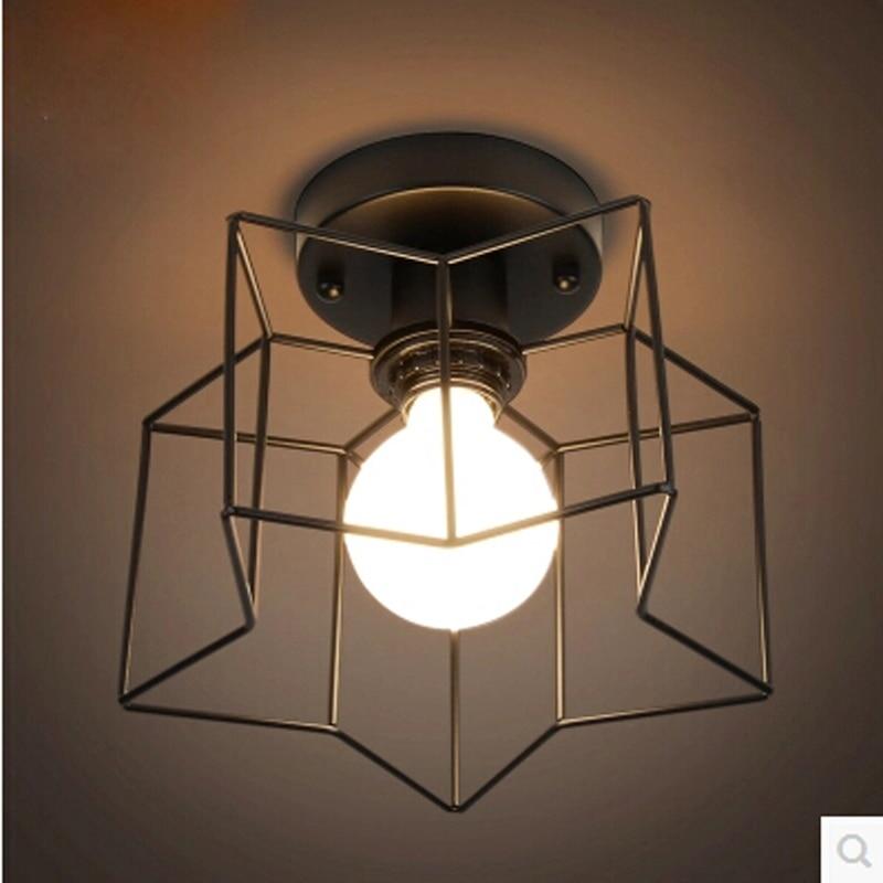 Romantic Bathroom Lighting Ideas: Romantic 1 Heads Star Lamparas Techo Led Ceiling Light