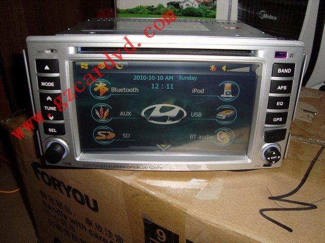 WS-9037 car dvd gps for HYUNDAI SANTA FE  SD/USB/Bluetooth/IPOD/TV/FM/AM/GPS