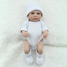Full Silicone Reborn Baby Dolls 10 inch 25cm Bebe Alive Lifelike Mini Menina Toddler Realistic Play Toys Kids Bath Playmate Gift