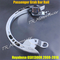Motorcycle Passenger Grab Bar Rail For Suzuki Hayabusa GSX1300R 2008 2016 09 10 11 12 13