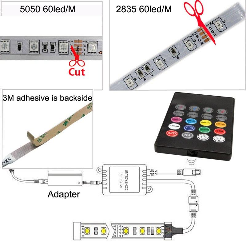 a luz de tira smd 5050 5
