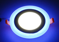 Special Packages Mailed Ultra Thin LED Panel Lamp Tube Light To Shoot The Light Double Color