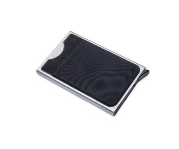 NewBring Slim Slide Card Holder Wallet Automatic Pop-up Business Card Case Money Pocket Protector