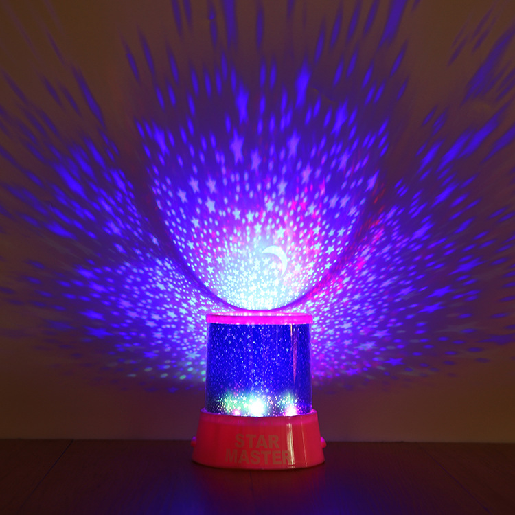 LED USB Star Light Sleep Romantic Starry Night Sky Projector Cosmos Lamp Kids