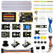 Zestaw Czujników-K4 Keyestudio dla arduino Starter kit kompatybilny Arduino UNO R3 pokładzie + ADL345 + Joystick + przekaźnik + LED RGB + 19 Projekty