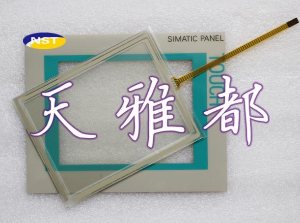 Touch Screen Digitizer for 6AV6 642 0AA11 0AX1 TP177A Touch Panel for 6AV6642 0AA11 0AX1 TP177A with Overlay (protective film)