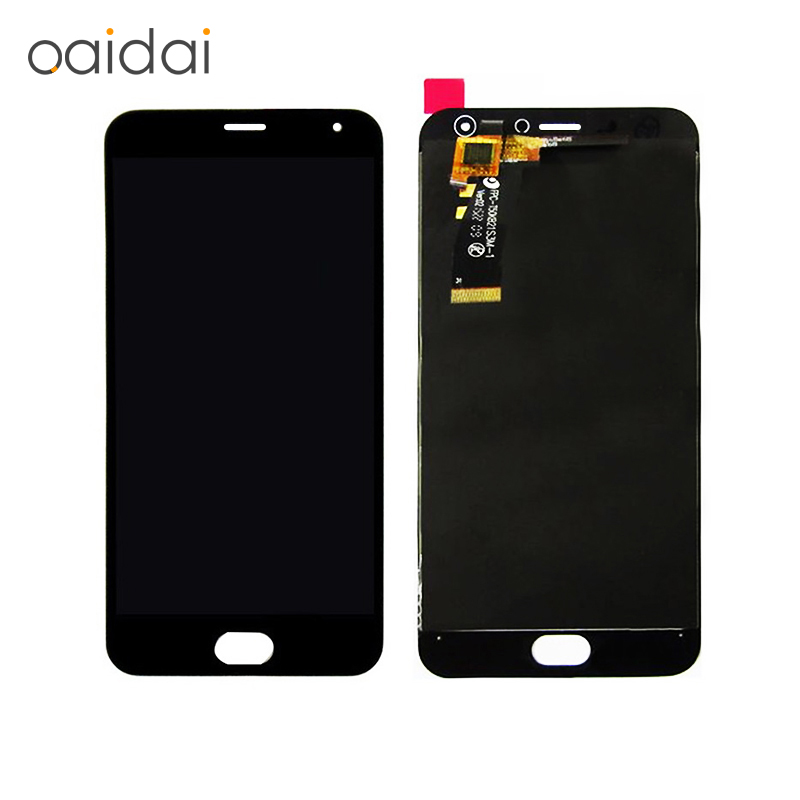 Teléfono lcd para MEIZU Sparparts M2 MINI Display + Touch Screen Reemplazo Digit