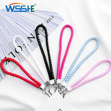 Mobile Phone Lanyard for Samsung iPhone Hand lanyard keys Wristband Anti-slip Cord Rope Strap cell phone Key