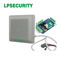 Wiegand26 interface 2~5meter range waterproof long range uhf rfid reader with Single Door 2 Reader access control panel
