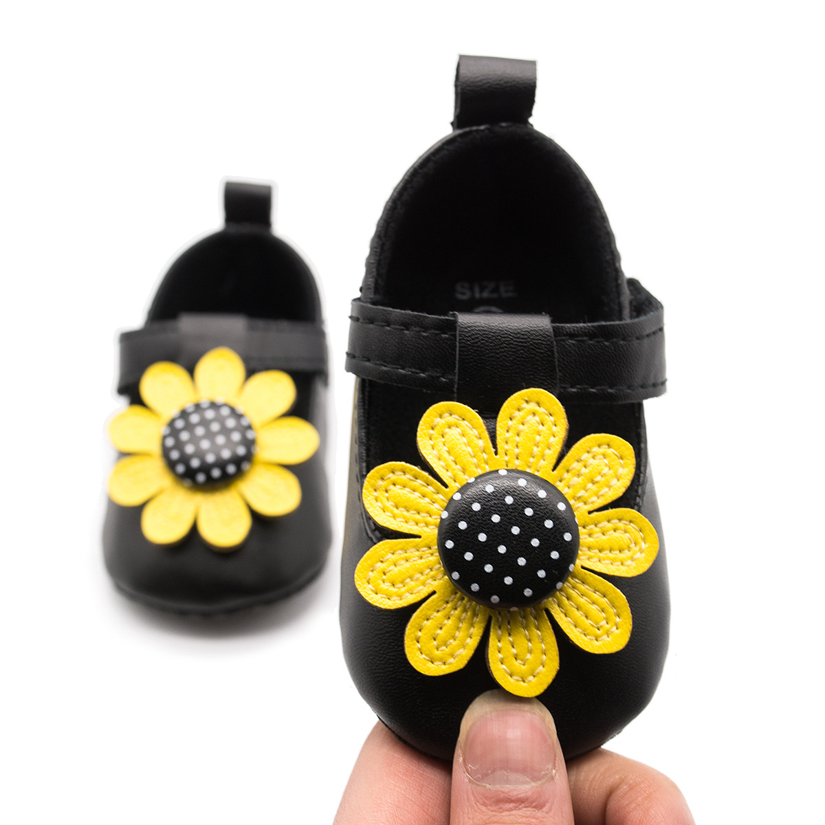 2018 New Cute Flower Baby Girls First Walkers Soft Sole Infant Baby Shoes Princess Shoes