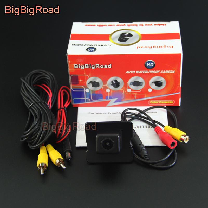 BigBigRoad Car Rear View Camera For Mercedes Benz M ML GL R Class <font><b>MB</b></font> W164 <font><b>X164</b></font> W251 280 300 350 450 500 Backup Parking Camera image