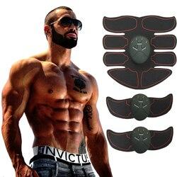 Estimulador muscular elétrico máquina de treinamento abdominal braço muscular trainer corpo emagrecimento queima exercitador edifício do corpo massageador
