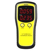 Портативный ЖК-дисплей цифровой диодный счетчик CO2 монитор PM2.5 комнатного воздуха детектор формальдегида