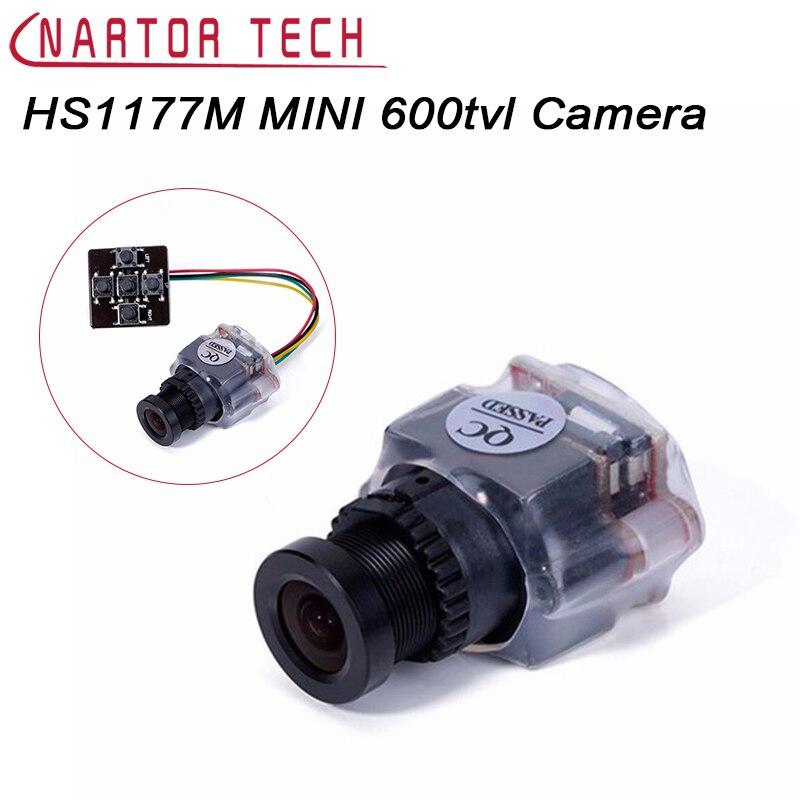 FOXEER HS1177M MINI 600tvl Sony Super HAD CCD Komponenten PAL NTSC 2,8mm Objektiv Mini FPV Kamera DC5V-22V Kunststoff Fall Für FPV