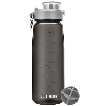 800ml Tritan BPA Free Leak Proof Water Bottle With Cover