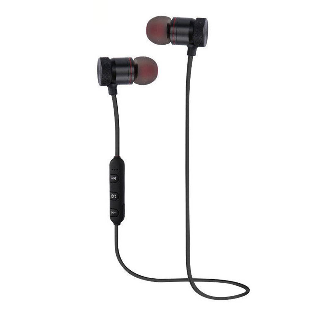 Stereo In-Ear Magnetic Earbuds Bluetooth  s Wireless Neckband Headset for Workout