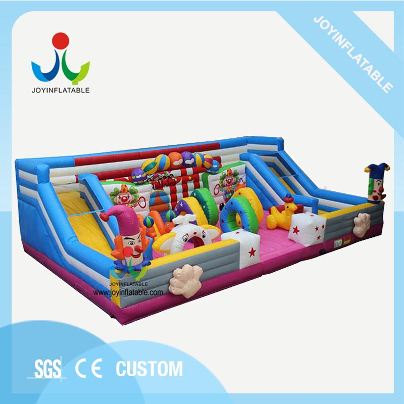 Outdoor fun city Inflatable Children Playground with Floating Obstacle on Sales