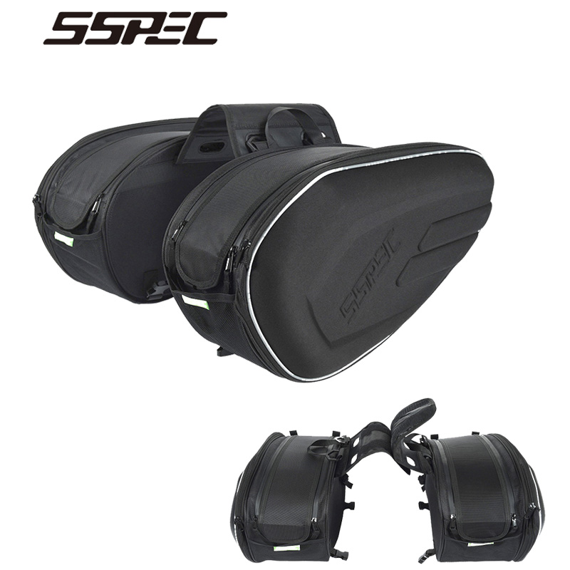 все цены на Motorcycle Bag Motorcycle Luggage Bag Oxford Cloth Saddle Bag For Suzuki Motocross Trunk Waterproof Helmet Bags Motorbike Riding
