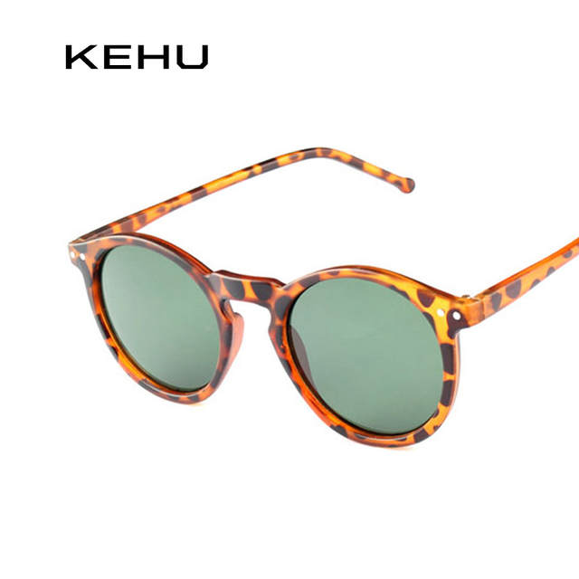 b9faed272be Online Shop KEHU New Fashion Trend Round Sunglasses Women Multicolour Frame  New Mercury Mirror Lens Glasses Men Coating Round Sunglasses Men