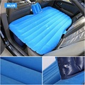 car Travel Inflatable Air Mattress Bed Camping Back Seat Extended  Cushion flocking Inflatable seat outdoor sofa