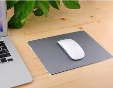 300*240 мм матовый тонкий алюминиевый коврик для мыши PC компьютер занос Ноутбук игровой коврик для Apple для mackbook
