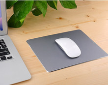 300*240mm Frosted Matte Slim Aluminum Mouse Pad PC Computer Skid Laptop Gaming Mousepad for Apple For MackBook(China)