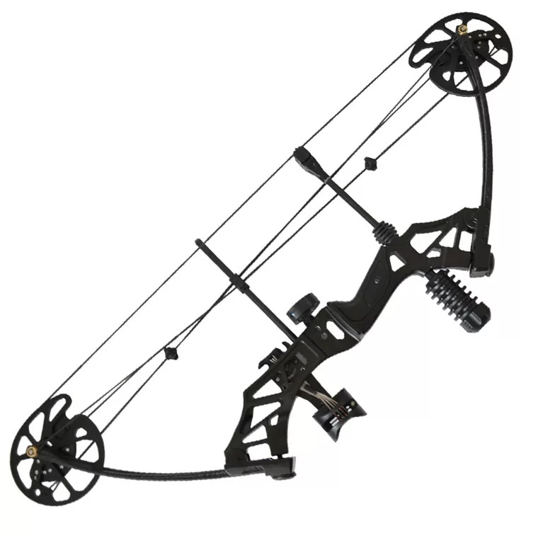 35-70lbs Adjustable Compound Bow Powerful Pulley Bow With 80% Labor-saving Structure For Outdoor Archery Hunting Shooting 4Color